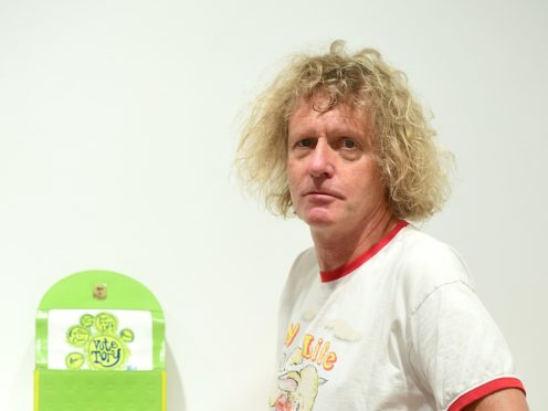 Comedians Vic Reeves and Harry Hill as well as sculptor Sir Antony Gormley will join Grayson Perry for his new show about making art in lockdown (Ian West/PA Wire)