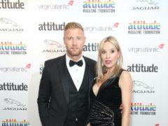Andrew 'Freddie' Flintoff and wife Rachael (Matt Alexander/PA)