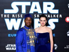 John Boyega and Daisy Ridley appear in Star Wars: The Rise of Skywalker, which is coming to Disney+ (Ian West/PA)