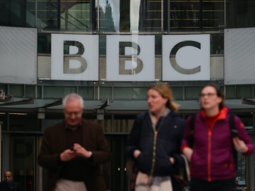New BBC Broadcasting House in London (Aaron Chown/PA)