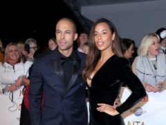 Marvin Humes and Rochelle Humes (Isabel Infantes/PA)
