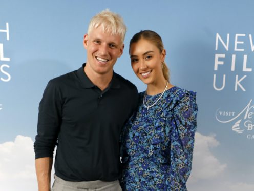 Jamie Laing (left) and Sophie Habboo (Ian West/PA)