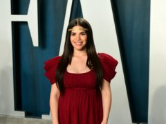Actress America Ferrera has sent a message of support to other expectant mothers worried amid the coronavirus pandemic (Ian West/PA)