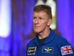 Astronaut Major Tim Peake (Joe Giddens/PA)