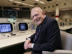 Gene Kranz, Apollo-era flight director, gave a somewhat different pep talk to the one in the movie (Michael Wyke/AP)