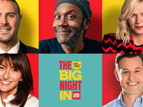 The Big Night In (BBC Children In Need/Comic Relief/PA)