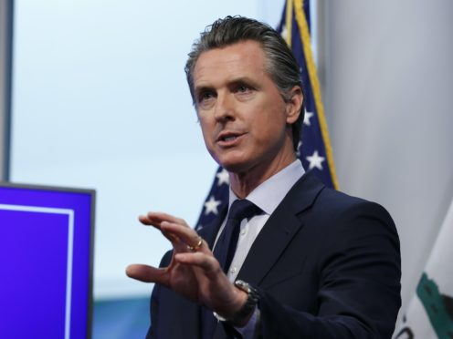 San Diego Comic-Con has been cancelled after California Governor Gavin Newsom warned against large-scale events (AP/Rich Pedroncelli, Pool)