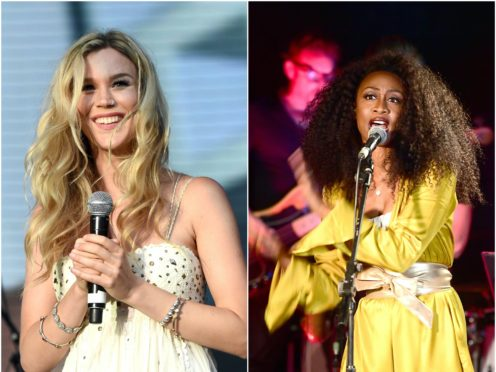 Joss Stone and Beverley Knight fature in the video (PA)