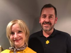 Jane Horrocks spoke to Jason Davidson in On The Marie Curie Couch (Marie Curie/PA)