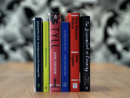 The shortlisted books for the International Booker (International Booker/PA)