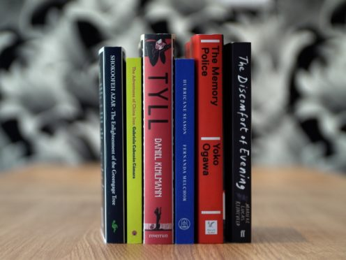 The shortlisted books (International Booker/PA)