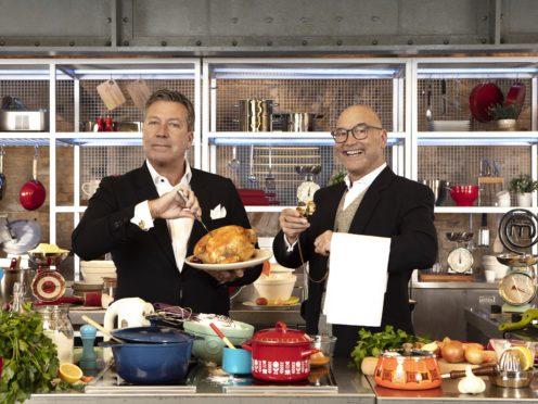 Gregg Wallace and John Torode host MasterChef (MasterChef/BBC/PA)