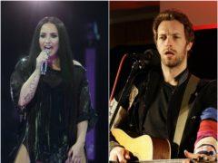 Demi Lovato and Chris Martin (PA)
