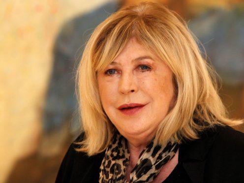 Marianne Faithfull spent three weeks in hospital (Peter Byrne/PA)
