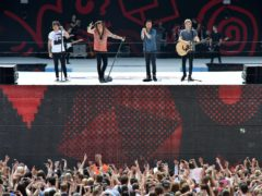 One Direction at the Summertime Ball in 2015 (Hannah McKay/PA)