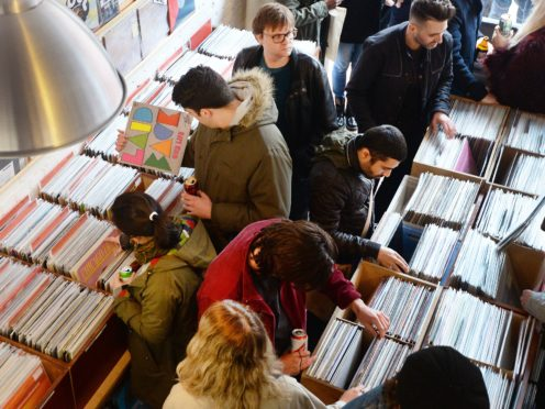 Shoppers on Record Store Day (John Stillwell/PA)