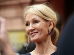 JK Rowling has announced a donation of £1 million to Crisis and Refuge (Yui Mok/PA)