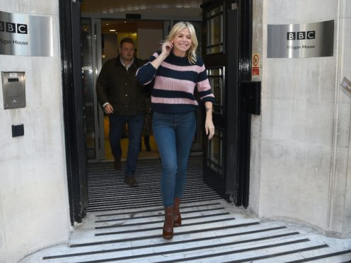 Zoe Ball (Kirsty O'Connor/PA)