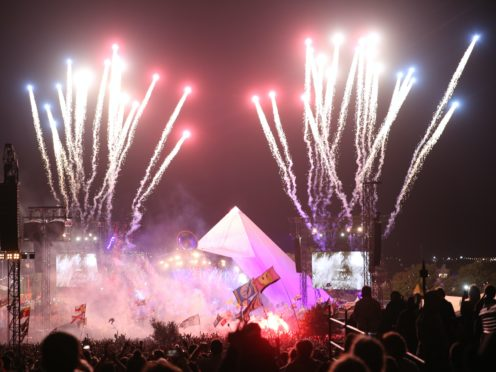 The Killers plays the Pyramid Stage in 2019 (Aaron Chown/PA)