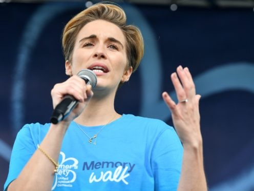 Vicky McClure has said filming of the hit BBC drama Line of Duty will resume when it is safe to do so (Jacob King/PA)