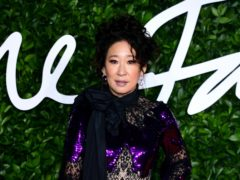 Sandra Oh on the red carpet (Ian West/PA)