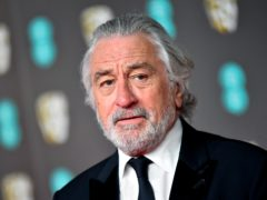 Hollywood star Robert De Niro has reopened his feud with Donald Trump and said the president 'doesn't even care how many people die' from coronavirus (Matt Crossick/PA)