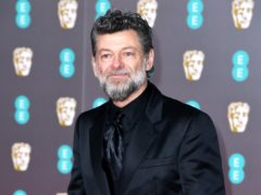 Andy Serkis said he was going to 'lean in' to doing all the voices of the characters (Matt Crossick/PA)