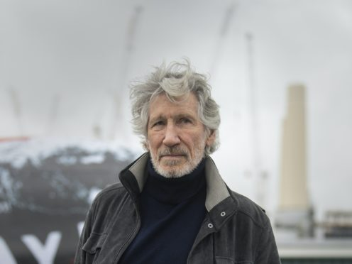 Roger Waters has accused his former bandmate David Gilmour of banning him from using Pink Floyd's website (Victoria Jones/PA)
