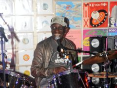 Tributes have been paid to the influential Afrobeat drummer Tony Allen, who has reportedly died at the age of 79 (Zak Hussein/PA Wire)