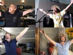 Robbie Williams and Take That (Meerkat Music/PA)