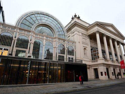 The Royal Opera House in London (Victoria Jones/PA)