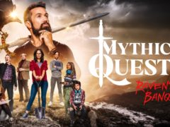 Rob McElhenney has described the process of remotely filming a special lockdown episode of his comedy series Mythic Quest: Raven's Banquet as a 'nightmare' (Apple/PA)