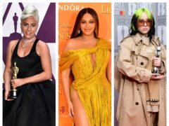 Lady Gaga, Beyonce, Billie Eilish (PA)