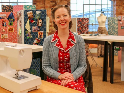 WARNING: Embargoed for publication until 22:01:00 on 17/06/2020 – Programme Name: The Great British Sewing Bee S6 – TX: n/a – Episode: The Final (No. 10 – The Final) – Picture Shows: **STRICTLY EMBARGOED NOT FOR PUBLICATION UNTIL 22:01 ON WEDNESDAY 17TH JUNE 2020** Clare – (C) Love Productions – Photographer: Production