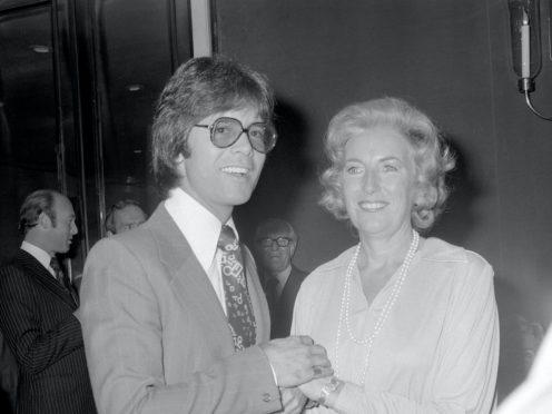 Cliff Richard with Dame Vera Lynn (PA)
