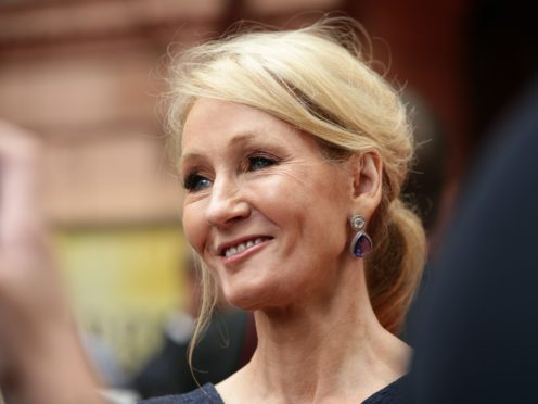 JK Rowling has defended her position on trans rights (Yui Mok/PA)