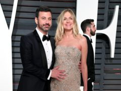 Jimmy Kimmel and Molly McNearney (PA)