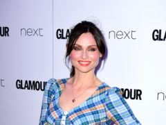 Sophie Ellis-Bextor was admitted to hospital after falling from her bike (Ian West/PA)