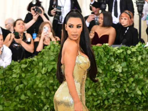Kim Kardashian West shared a sweet tribute to daughter North as she celebrated her seventh birthday (Ian West/PA)