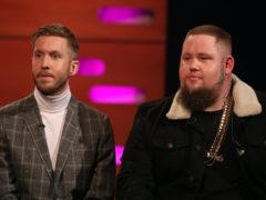 Calvin Harris and Rag 'N' Bone Man (Isabel Infantes/PA)