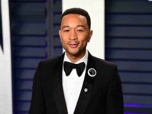 John Legend is among the stars speaking out as protests continue to sweep the US (Ian West/PA)