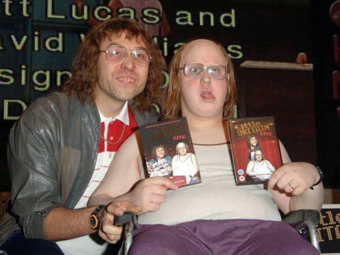 David Walliams and Matt Lucas (Ian West/PA)