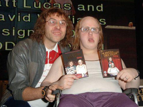 Matt Lucas and David Walliams (Ian West/PA)