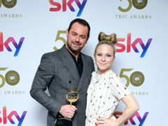 Danny Dyer and Kellie Bright (Ian West/PA)