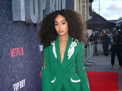Little Mix star Leigh-Anne Pinnock broke down in tears as she admitted she feared being 'the least favoured' member of the group due to her race (Ian West/PA)