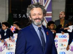 Michael Sheen, in his address, discussed the importance of religion, ethics and morality (Ian West/PA)