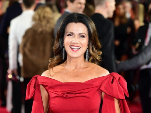 Susanna Reid apologised for the language used by a guest (PA)