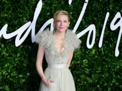 Hollywood actress Cate Blanchett has revealed she had a close call with a chainsaw following an accident at home (Ian West/PA)