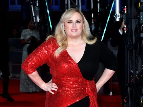Rebel Wilson said comedy roles are still dominated by men (PA)