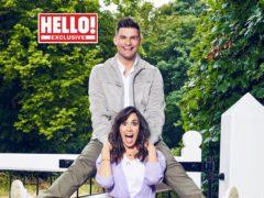 Janette Manrara and Aljaz Skorjanec (Hello! magazine/PA)